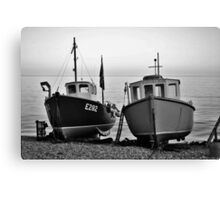 Fisherman's boats (2) Canvas Print