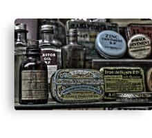 Medicine cabinet Canvas Print