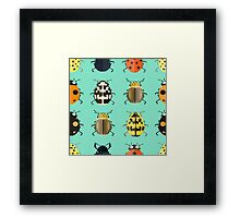 Insects. Framed Print