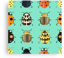 Insects. Canvas Print