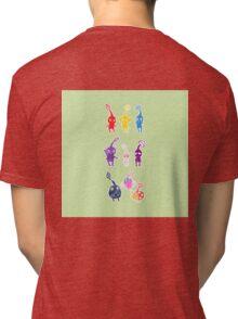Textured Pikmin Tri-blend T-Shirt