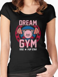 Dream Gym Women's Fitted Scoop T-Shirt
