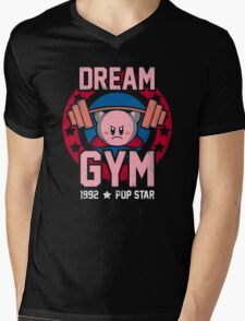 Dream Gym Mens V-Neck T-Shirt