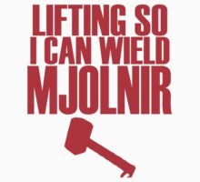 Lifting to Wield Mjolnir One Piece - Short Sleeve