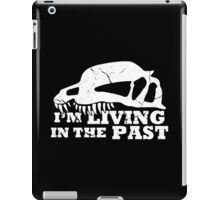 Living in the Past with Dilophosaurus iPad Case/Skin