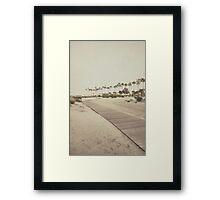 Shoreline Trail Framed Print