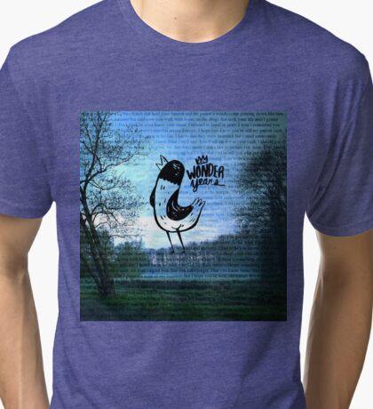 The Wonder Years Lyrics Tri-blend T-Shirt