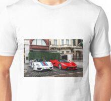Porsche 918 Spyder & Ferrari LaFerrari Unisex T-Shirt