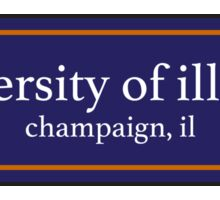 University of Illinios Sticker