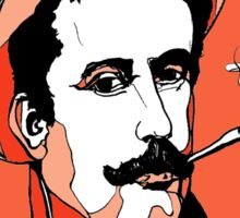 Italian Composer Puccini by Arty Margit Sticker
