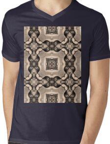 Kaleidoscope Vintage Car Mens V-Neck T-Shirt