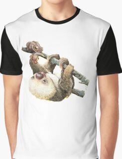 Baby Sloth Graphic T-Shirt
