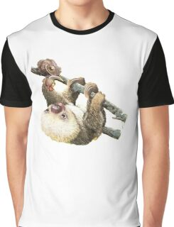 Baby Sloth Graphic T-Shirt