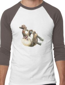 Baby Sloth Men's Baseball ¾ T-Shirt