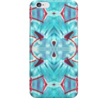 Blue Graffiti iPhone Case/Skin