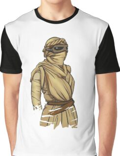 Rey: The Force Awakens Graphic T-Shirt