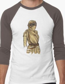 Rey: The Force Awakens Men's Baseball ¾ T-Shirt