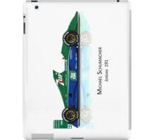 Michael Schumacher - Jordan 191 iPad Case/Skin