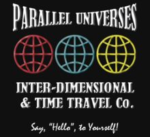 Parallel Universes Travel Co. Baby Tee
