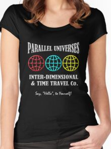 Parallel Universes Travel Co. Women's Fitted Scoop T-Shirt