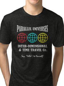 Parallel Universes Travel Co. Tri-blend T-Shirt