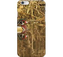 Wood Duck Reflections iPhone Case/Skin