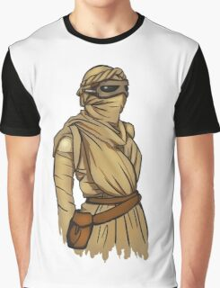 Rey: The Force Awakens II Graphic T-Shirt