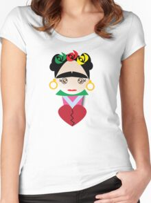 Frida Kahlo Women's Fitted Scoop T-Shirt