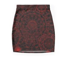 Magic Madness (Red & Black) Mini Skirt