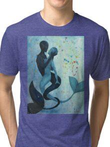 Mermaid Struggle Tri-blend T-Shirt