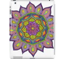 Purple Sun Mandala iPad Case/Skin