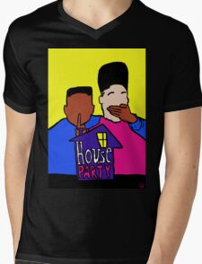 Welcome to my HOUSE PARTY Mens V-Neck T-Shirt