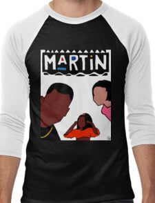 Martin (White) Men's Baseball ¾ T-Shirt