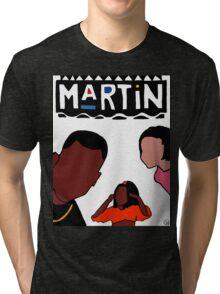 Martin (White) Tri-blend T-Shirt