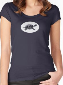 Red Ear Thumbtle Women's Fitted Scoop T-Shirt