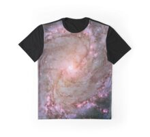 Deep-Space Nebula Galaxy Graphic T-Shirt