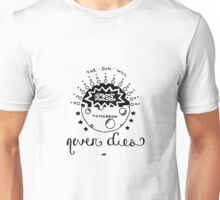 tomorrow never dies lyrics Unisex T-Shirt