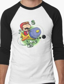 Saving the Princess from Exploding Turtles Men's Baseball ¾ T-Shirt