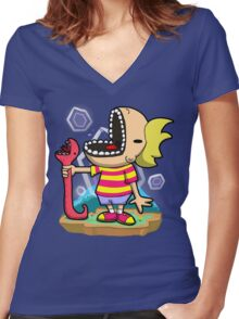 PK FREEEEZE! Women's Fitted V-Neck T-Shirt