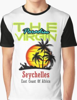 The Virgin Paradise, Seychelles Graphic T-Shirt