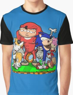 Sanic Bam! Graphic T-Shirt