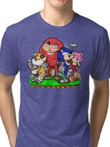 Sanic Bam! Tri-blend T-Shirt
