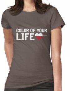 Michał Szpak - Color of Your Life Womens Fitted T-Shirt
