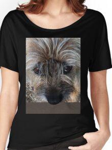Border Terrier portrait Women's Relaxed Fit T-Shirt