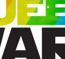 Queer Wars Rainbow Stars Parody  Sticker