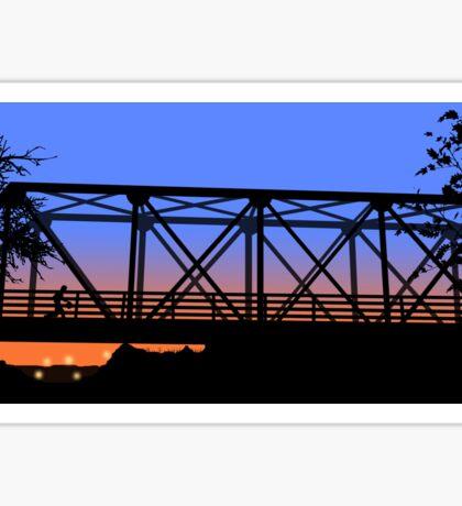One Tree Hill Bridge Sticker