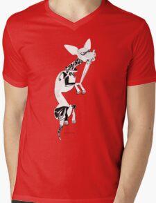 Momo as Inugami Mens V-Neck T-Shirt