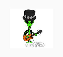 Little Greenie the Alien Discovers Rock n' Roll! Unisex T-Shirt