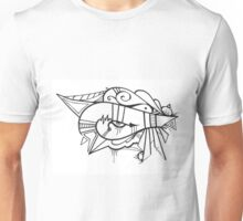 Eye of the Ancients Hand Drawn Abstract Unisex T-Shirt