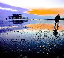 Brighton Low Tide #2 by Emma Bennett